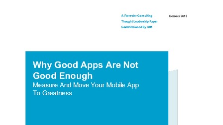 Report forrester why good apps are not good enough.pdf thumb rect larger