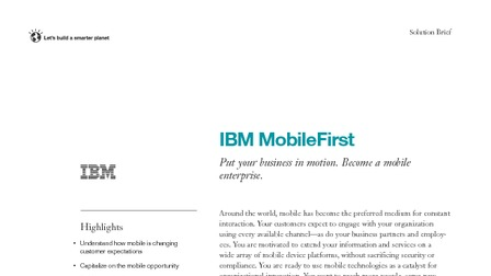 Solution brief ibm mobilefirst.pdf thumb rect larger