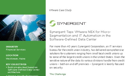 Case study synergent taps vmware nsx for micro segmentation and it automation.pdf thumb rect larger