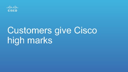 Research 451 report customers give high marks to cisco.pdf thumb rect larger