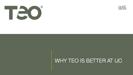 White paper why teo is better at uc.pdf thumb rect larger