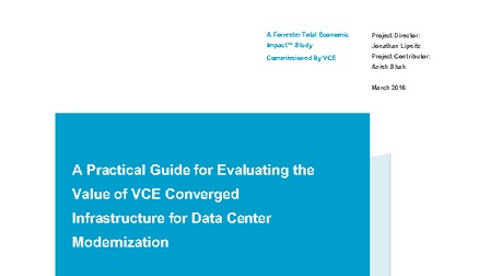 Forrester guide for evaluating the value of vce converged solutions.pdf thumb rect larger