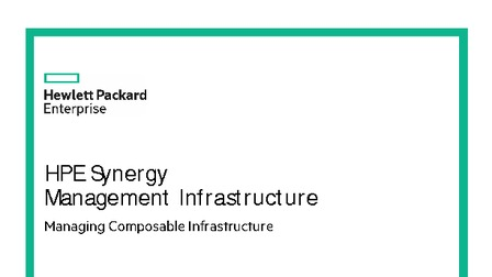 Hpe synergy management infrastructure.pdf thumb rect larger
