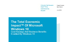 Forrester report total economic impact of microsoft windows 10.pdf thumb rect large320x180