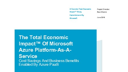 Whitepaper the total economic impact of microsoft azure paas forrester.pdf thumb rect larger