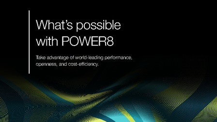 Ebook whats possible with power8.pdf thumb rect larger