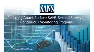 Sans research reducing attack surface with continuous monitoring programs.pdf thumb rect large320x180