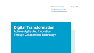 Forrester report achieve agility and innovation through collaboration technology.pdf thumb rect large320x180