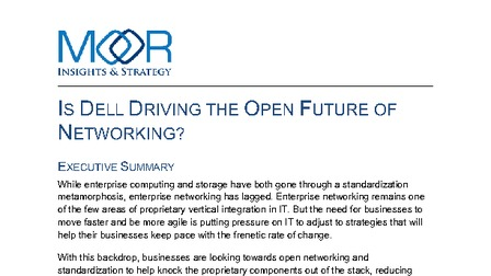 Is dell driving the open future of networking by moor insights and strategy.pdf thumb rect larger