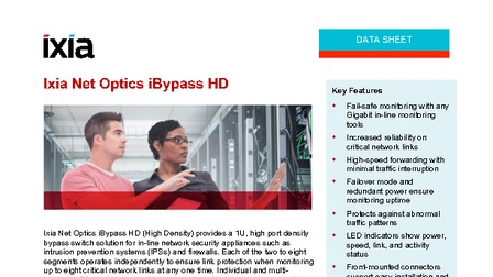 Data sheet ixia net optics ibypass hd.pdf thumb rect larger