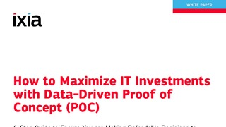 White paper how to maximize it investments with data drive proof of concept.pdf thumb rect large320x180